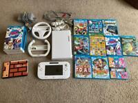 Wii U console, games and accessories