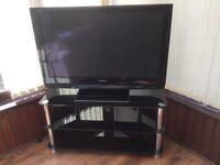 42 inch Panasonic Viera HD Plasma TV with stand.