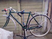 Raleigh pioneer jaguar sprinter bike Needs missing Parts