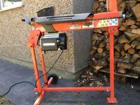 Log wood splitter