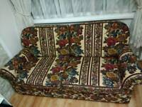 3/4 Seater Sofa Bed and Arm Chair