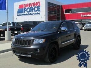 2012 Jeep Grand Cherokee Overland 5 Passenger, Panoramic Sunroof