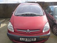 2002 CITROEN XSARA, 1.6 PETROL, BREAKING PARTS ONLY, POSTAGE AVAILABLE NATIONWIDE