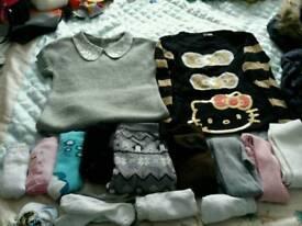 Age 6-7 girls winter clothes bundle