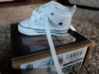 Baby Converse boxed