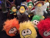 Club penguin plush toys