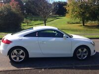 2008(Sep) Audi TT FSI 2.0 Coupe Ibis White/Contrasting Red Nappa Leather; Immaculate - Head Turner
