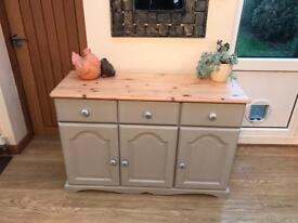 Solid Pine Sideboard / chest / cupboard