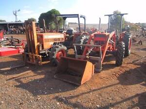 Same Minitaurus 4wd tractor with front forklift Balliang East Moorabool Area Preview