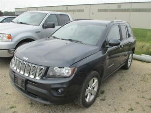 2014 Jeep Compass NORTH 4WD! LEATHER TRIM! BLUETOOTH! POWER PACK