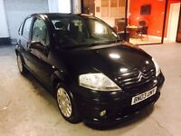 CITROEN C3 - IMACULATE INSIDE OUT! VERY LOW GENUINE MILES 2 KEYS BLACK 1 OWNER FROM NEW SERVICE!!!