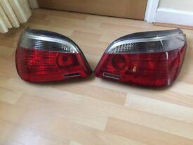 BMW E60 PRE LCI COMPLETE REAR LIGHTS 520D 525D 530D
