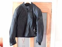 Brand New Mens' Leather Motorcycle Jacket