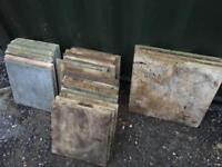 Used paving slabs for sale 600 x 600mm and 450 x 450mm mixed