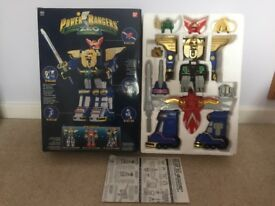 POWER RANGERS ZEO MEGAZORD