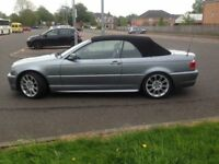 BMW 320 Msport Covertible
