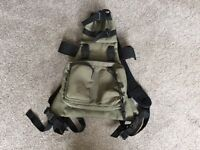 Cley spy mule pack tripod carrier includes attached shoulder bag