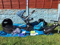 Quinny Buzz 3in1 Complete Travel System In Sky Blue