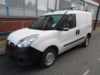 2014 VAUXHALL COMBO 13CDTI L1H1 DVAN 2000 EURO5 YEAR MOT ROOF RACK S/BOOKPACK ELECTRIC PACK