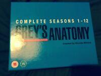 Greys anatomy complete box set seasons 1-12