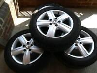 VW T5 Alloy Wheels M & S 215/60R17C