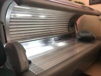 Tansun Serenity bed with Red Light Therapy Collagen Tubes