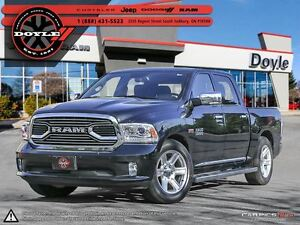 2016 Ram 1500 LARAMIE LIMITED CREW CAB 4WD - 1-OWNER TRADE-IN!!!