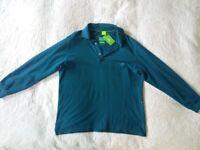 """Authentic, Genuine """"Hugo Boss"""" Designer Men's Long Sleeve Polo Shirt."""