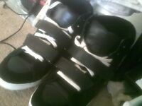 hi tops. bertie. size 7. worn twice, sticky label inside to be removed or covered. no other issues
