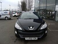 2009 09 PEUGEOT 308 1.6 VERVE 5D 120 BHP **** GUARANTEED FINANCE **** PART EX WELCOME