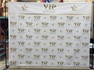 Step and Repeat Custom Print & Hardware Package
