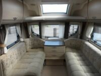 STERLING ECCLES AMYTHEST - 6 BERTH - 2011 - FIXED BED - TOURING CARAVAN FOR SALE - COASTFIELDS