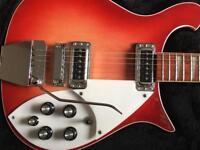 Rickenbacker 625 with Ric Case