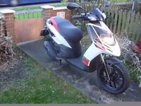 APRILIA SR MOTARD 125 SCOOTER,LATE 64 PLATE,ONLY 5,000 MILES,2 OWNERS,RUNS AND RIDES LIKE NEW,