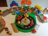 Fisher Price Little People Town / Discovery Village; school & accessories