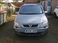 2004 Auto Diesel Zafira 2l dti Elegance.