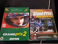 Pc simulator game Grand Prix 2 and Grand Prix 2 add on