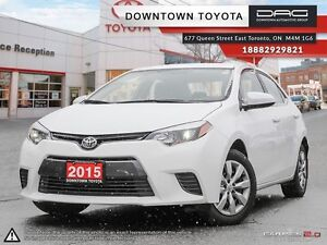2015 Toyota Corolla LE- only 21183km