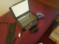 Epson Printer, Scanner and Photocopier mint condition with station accessories.