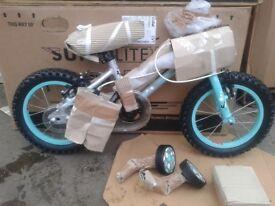 """New Falcon Superlite 14"""" Wheel Lightweight Alloy Single Speed Bike Stabilisers - RRP £170"""