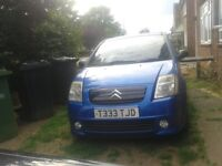 Automatic citroen c2 for sale,only 41k on clock