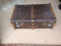 Suitcase Shabby Chic Old Retro Theatrical Prop Vintage