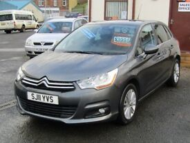 11/11 Citroen C4 VTR+ 1.6 HDi Diesel, 5dr, Metallic Grey**12 Months MOT, £20 a year road tax**