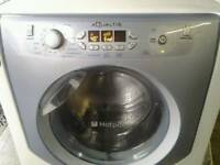 Hotpoint aqualtus washing machine 9kg. Can arrange delivery.