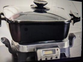Table top servers/cooker