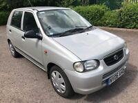 SUZUKI ALTO 2006 80K LONG MOT CHEAP CAR NOT PEUGEOT 106 CITROEN VAUXHALL CORSA FORD FIRSTA