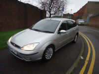 2002 FORD FOCUS GHIA 1.6 PETROL JUST PUT IN NEW CLUTCH MOT IS UNTIL 01/10/201...