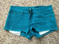 Forever 21 Demin Ladies Women Hot Pants Shorts Size 8 Paypal accept