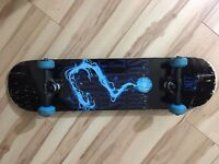 Enuff Pyro II Complete Skateboard, Blue -7 Ply Maple - 5″ Lightweight Pro Trucks