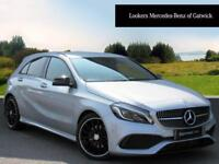 Mercedes-Benz A Class A 200 D AMG LINE PREMIUM (silver) 2016-09-27